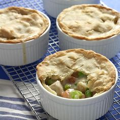 "Chicken Pot Pie IX | ""A delicious chicken pie made from scratch with carrots, peas and celery."""