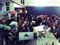 Fuimos invitados por Custom Creative en el Primer Meeting Colores del Sur, en que tuvimos la suerte de compartir fin de semana con grandes artistas Custom