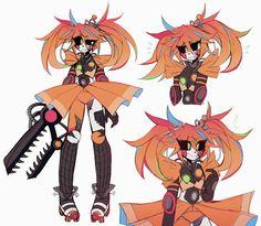 Anime Fnaf, Anime Demon, Anime Art, Animatronic Fnaf, Character Art, Character Design, Fnaf Baby, Fnaf Wallpapers, Mundo Dos Games