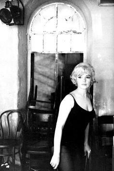 Marilyn Monroe on the set of Let's Make Love.