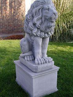 Garden Water Fountains | Garden Lion Statues | Geoffs Garden Ornaments
