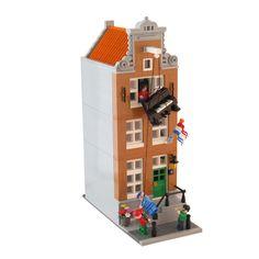 Legos, Casa Lego, Lego Structures, Lego Furniture, Lego Design, Modular Design, Lego Pictures, Lego Trains, Lego Construction