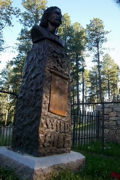 Roadside Attractions - Wild Bill Hickock's grave in Deadwood, SD