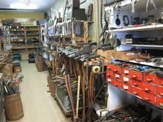 used tool shop.  Check out the method for sledgehammers and axes