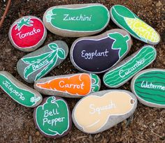 Because your markers should be just as pretty as the plants that surround them!