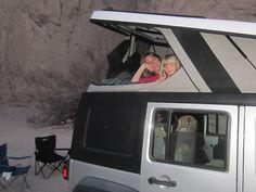2014 jeep wrangler with ursa minor pop top camper jeeps for sale pinterest jeep jeep. Black Bedroom Furniture Sets. Home Design Ideas