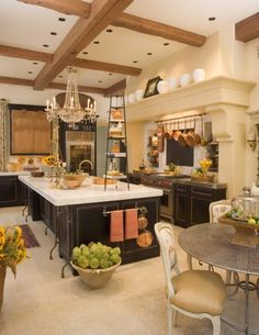 Our French Inspired Home: Choosing A French Home Design: Jack Arnold Kitchen