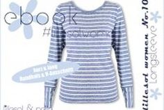 Schnittmuster Ebook lillesol women No.10 Longsleeve