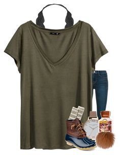 """""""Yanna"""" by if-you-like-midnight-driving ❤ liked on Polyvore featuring Humble Chic, Frame Denim, H&M, Smartwool, Olivia Burton, Sperry and MICHAEL Michael Kors"""