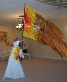 how to make praise and worship flags and banners - Google Search