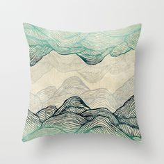 Crash Into Me Throw Pillow