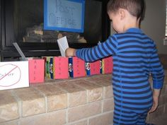 Post Office Letter Sorting - great for letter recognition, sorting and pretend play!