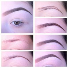 This easy tutorial teaches you how to get perfect shapely eyebrows in just 7 steps!