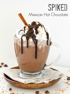 Mexican hot chocolate, Hot chocolate and Mexicans on Pinterest