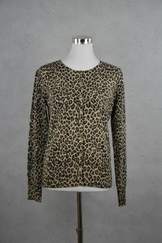 Trendige Strickjacke im Leopardenlook von Maddison online kaufen - Grösse M - Marke Maddison | Vintage-Fashion Online Shop fürs Verkaufen un...