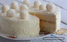 Želite zadiviti goste koji vole kokos ili možda počastiti sami sebe i najmilije? S ovom tortom od kokosa nećete pogriješiti. Pružit će vam potpun užitak sa svakim zalogajem… SASTOJCI Kore 6 bjelanaca 130 g šećera 6 kašika brašna 130 g kokosa 1 kašika praška za pecivo Premaz 260 ml slatke pavlake za kuhanje 220..