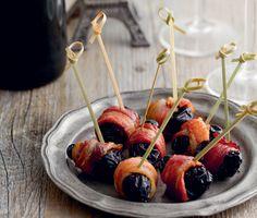 Prunes in Crispy Bacon  Recipe | Epicurious.com