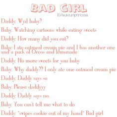"*gets fussy and tears up* ""Mm sorry. Daddys Girl Quotes, Daddy's Little Girl Quotes, Little Things Quotes, Daddys Little Princess, Daddy Dom Little Girl, Text Daddy, Ddlg Quotes, Ddlg Little, Daddy Kitten"