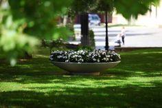 large flower pot for urban space ring - terraform.pl