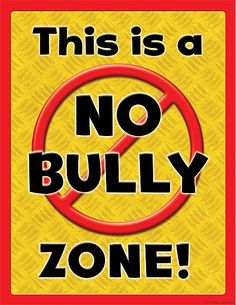 Bullying affects kids and causes psychological stress. The Occupational Therapy Los Angeles Team is a NO BULLY zone. Visit us to learn how you can prevent bullying. Classroom Charts, Classroom Rules, Chemistry Classroom, Classroom Door, Future Classroom, Classroom Ideas, Bullying Lessons, Stop Bullying, Anti Bullying Activities