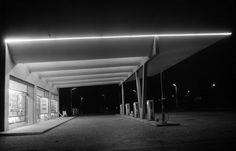 IT, Sesto San Giovanni, Stazione di servizio carburanti. Architect Aldo Favini, 1949.