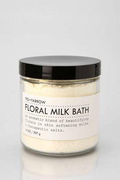 Fig + Yarrow Floral Milk Bath Soak - Urban Outfitters