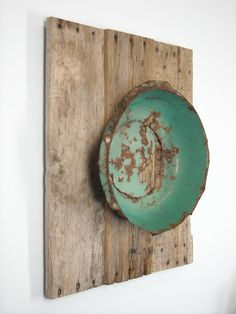 Reclaimed Wood Rustic Art Original- great way to display beautiful objects
