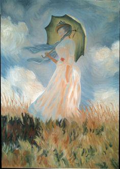 Claude Monet, Donna con il parasole, 1886