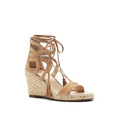 Vince Camuto Tannon Lace Up Espadrille Wedge - Vince Camuto