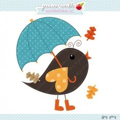 Autumn Leaf Bird