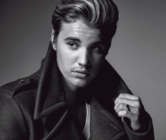 The Justin Bieber L'Uomo Vogue Exclusive is Bold and Rebellious #popculture trendhunter.com