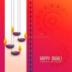 Illustration about Indian diwali festival greeting with hanging diya design vector. Illustration of wallpaper, religion, diya - 128848099 Happy Diwali Pictures, Happy Diwali Wishes Images, Happy Diwali Wallpapers, Diwali Cards, Diwali Greeting Cards, Happy Diwali Animation, Diwali Greetings Quotes, Diwali Quotes, Happy Diwali Rangoli