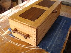 The Yames chest - by Brian Wells @ LumberJocks.com ~ woodworking community