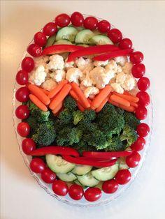 Easter Veggie Tray