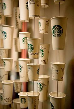 An insight on how the creative team at Starbucks work