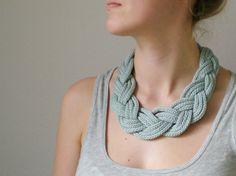 "Kette ""Strickliesel"" // necklace by Lieselotta* via DaWanda.com"