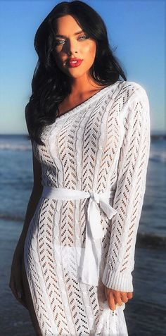 Crochet Summer Dresses, Sexy Women, Lace, Sweaters, Tops, Style, Fashion, Swag, Moda