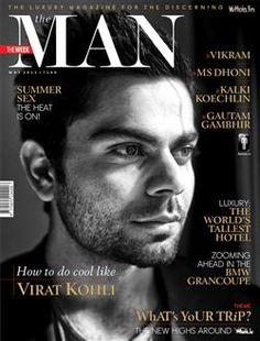 Virat Kohli The Luxury Magazine For The Discerning Male Front Page Wallpaper, Virat Kohli Wallpaper, Indian Cricketer Wallpaper