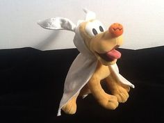 "Disney Pluto as ""Zero"" Character Plush from Nightmare before Christmas EUC"