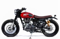 Image may contain: motorcycle Cafe Bike, Cafe Racer Bikes, Royal Enfield Wallpapers, Bullet Bike Royal Enfield, Royal Enfield India, Royal Enfield Modified, Honda 125, Enfield Classic, Enfield Motorcycle
