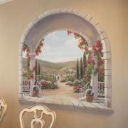 Italian Dining Room Trompe L'Oeil Mural