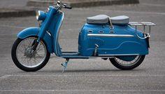 1961 Manurhin scooter