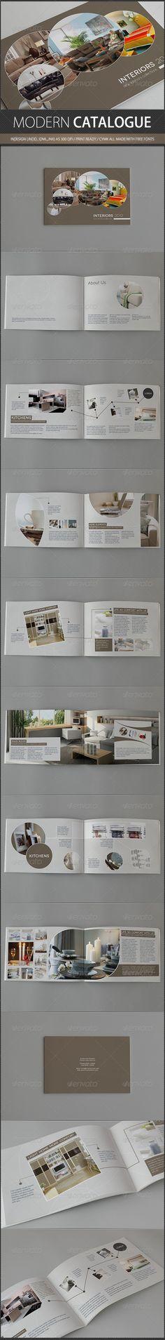Modern Catalogue by ~UnicoDesign on deviantART