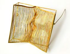 Marchetti - brooch  makes me want to (again, for the first time) get into electroplating... it comes up every few months