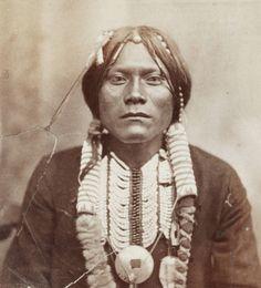 Ute man. 1869-1879