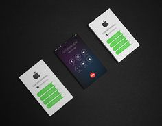 """Check out new work on my @Behance portfolio: """"Business Card iPhone Inspired"""" http://be.net/gallery/43867529/Business-Card-iPhone-Inspired"""