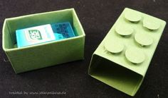 Lego Boxes, Paper Art, Paper Crafts, Handmade Envelopes, Envelope Punch Board, Roomspiration, Diy Box, Diy Gifts, Stampin Up