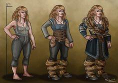 Tarin Stoneback- Dwarf OC by RachelleFryatt on deviantART