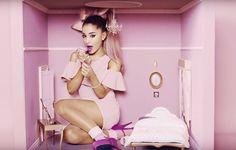Imagem de ariana grande, pink, and viva glam