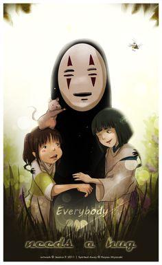 Everybody needs a hug by Mikomi-sama.deviantart.com on @deviantART